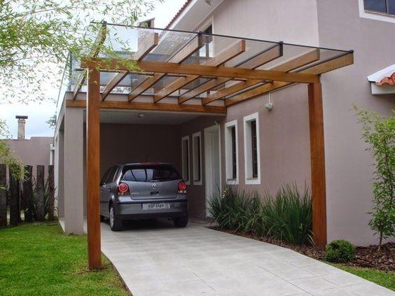 Carport Model Beton Kanopi Kaca