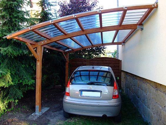 Carport Simple Kanopi Kaca
