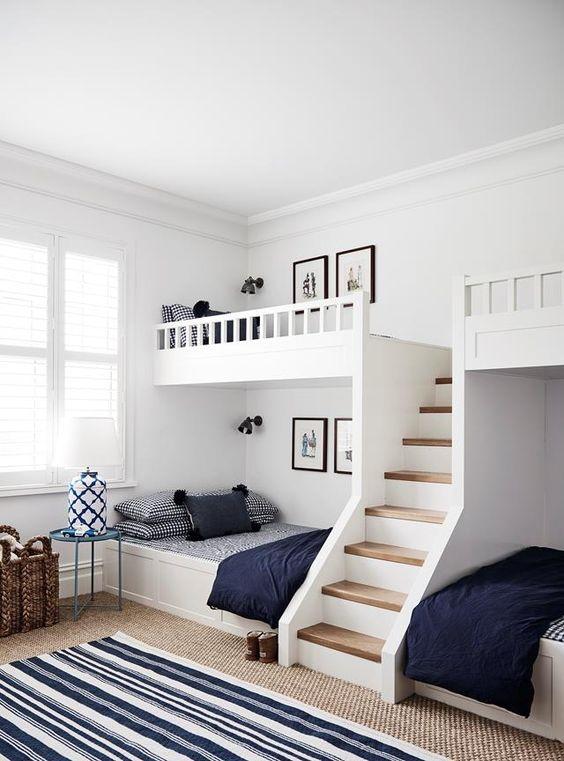 Desain Kamar Tidur dengan Tempat Tidur Tingkat