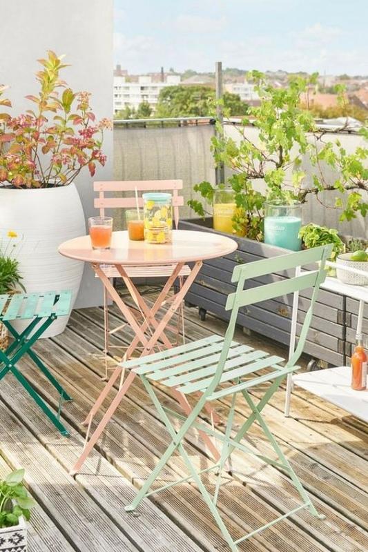 Kursi Teras Model Folding Chairs Multicolour