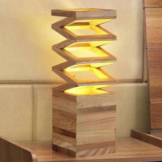 Lampu Belajar Model Solid Wood