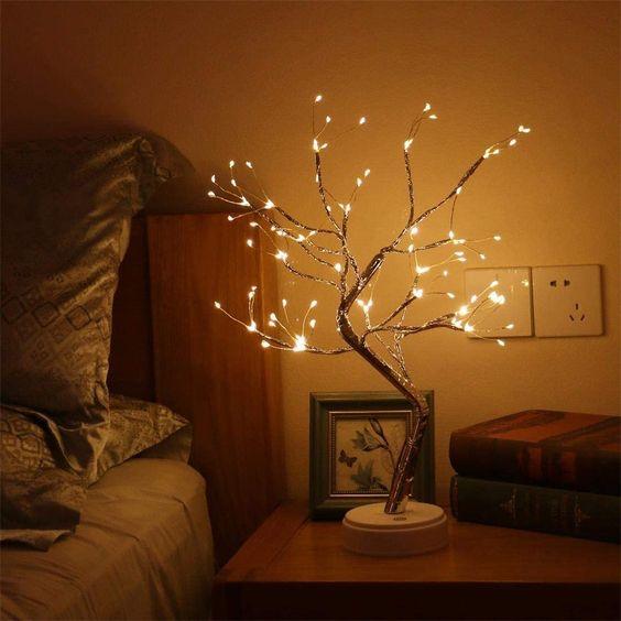 Lampu Tidur Model Pohon