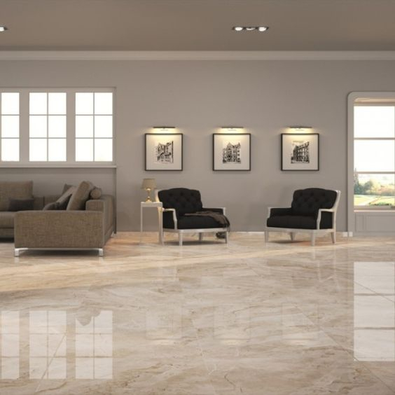 Lantai Granit Motif Sederhana