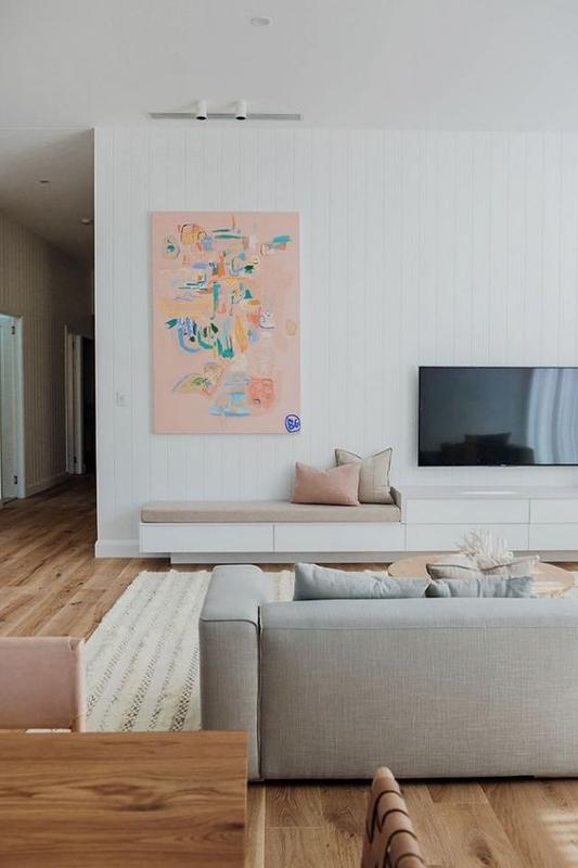 Ruang Keluarga Sederhana Simple