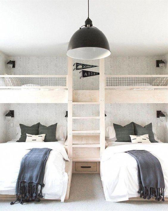 Tempat Tidur Model Ranjang Bertingkat Sederhana