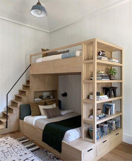 Tempat Tidur Model Ranjang Bertingkat Unik