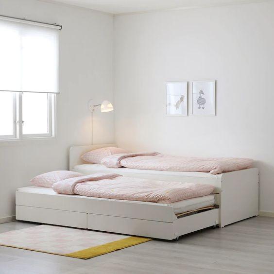 Tempat Tidur Model Ranjang Semi Laci