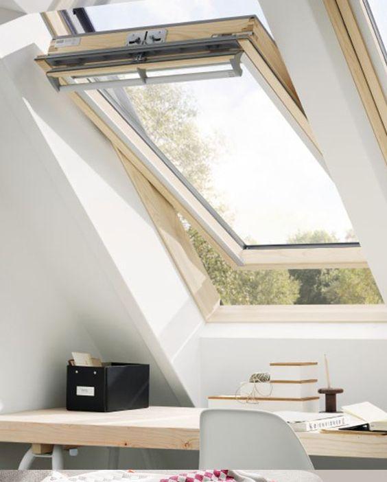 Ventilasi Model Skylight Window