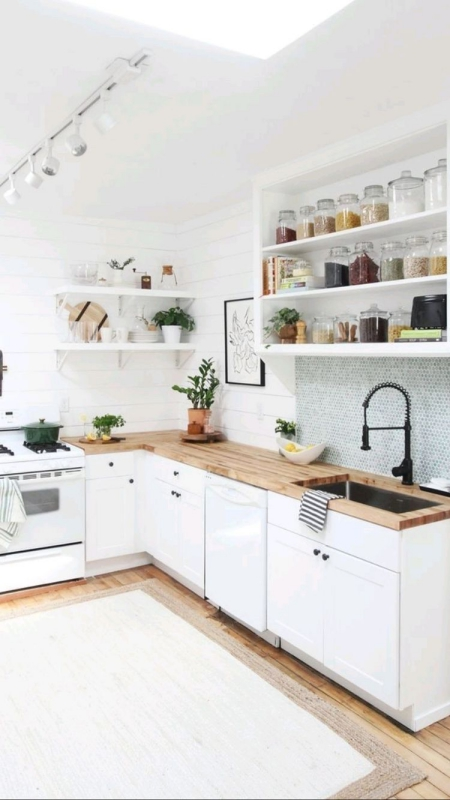 Dapur Minimalis dengan Perabot Multifungsi