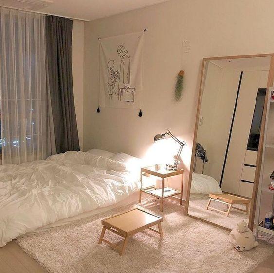 Kamar Tidur Clean ala Korea