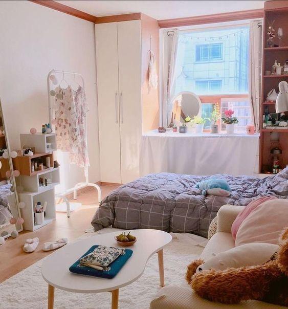 Kamar Tidur Girly ala Korea