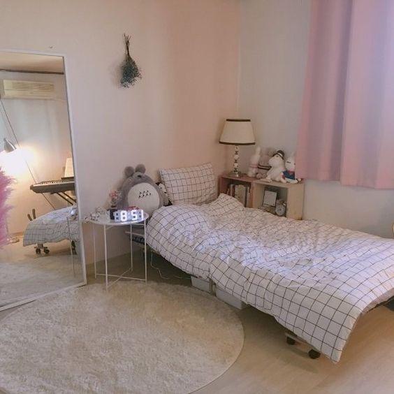 Kamar Tidur Minim Furniture ala Korea