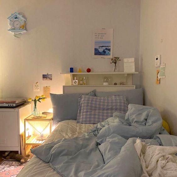 Kamar Tidur Minimalis ala Korea