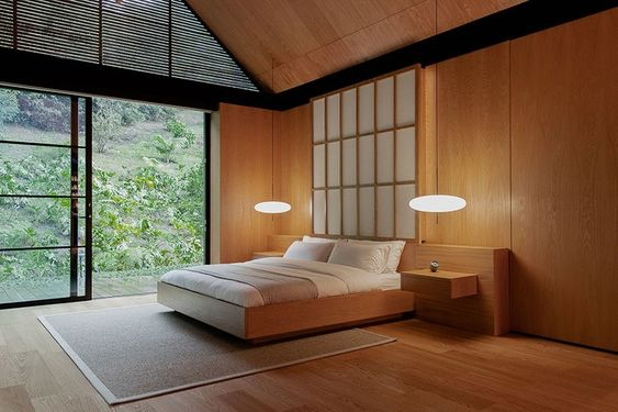 Kamar ala Jepang dengan Barang Minimalis