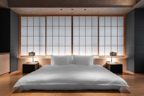 Kamar ala Jepang dengan Kasur Lantai Minimalis