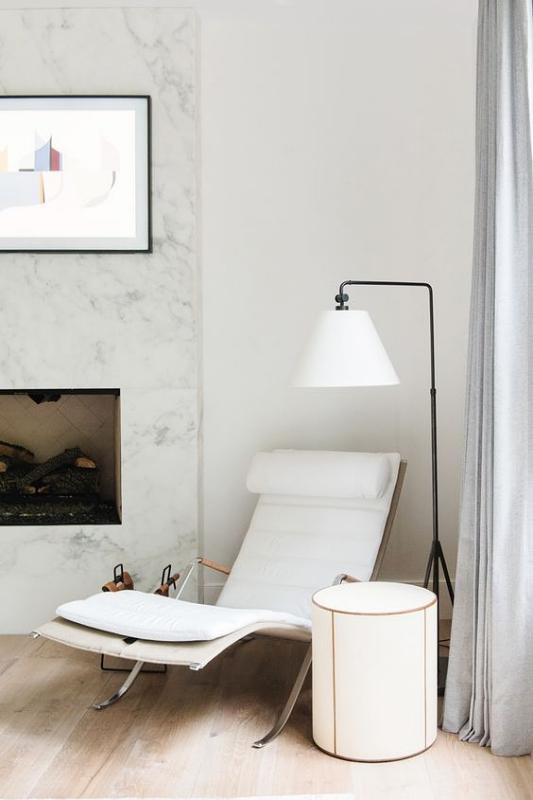 Kursi Santai Sofa Panjang Berlekuk Rangka Besi