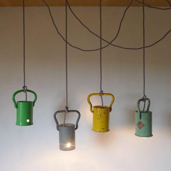 Lampu Vintage Gantung Unik