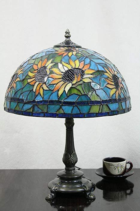Lampu Vintage Meja Kaca