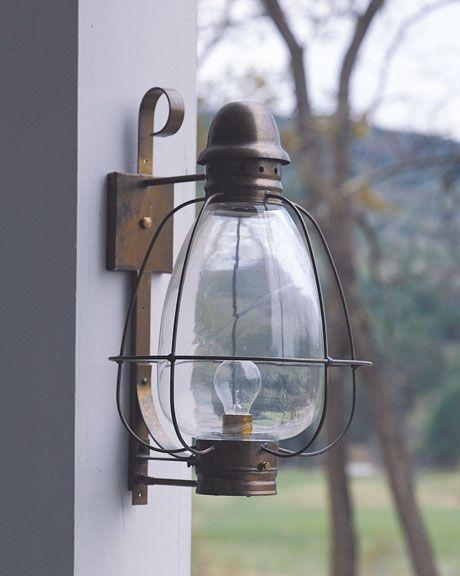 Lampu Vintage Tempel Luar Ruangan