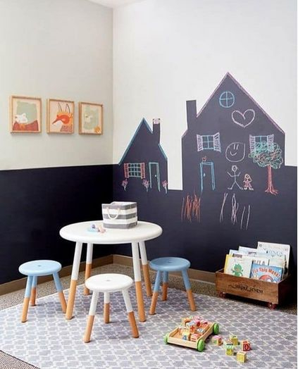 Ruang Bermain Anak Konsep Minimalis