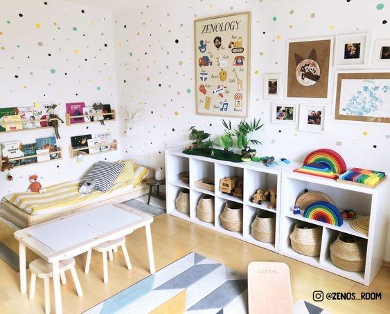 Ruang Bermain Anak dengan Kasur Istirahat Mini