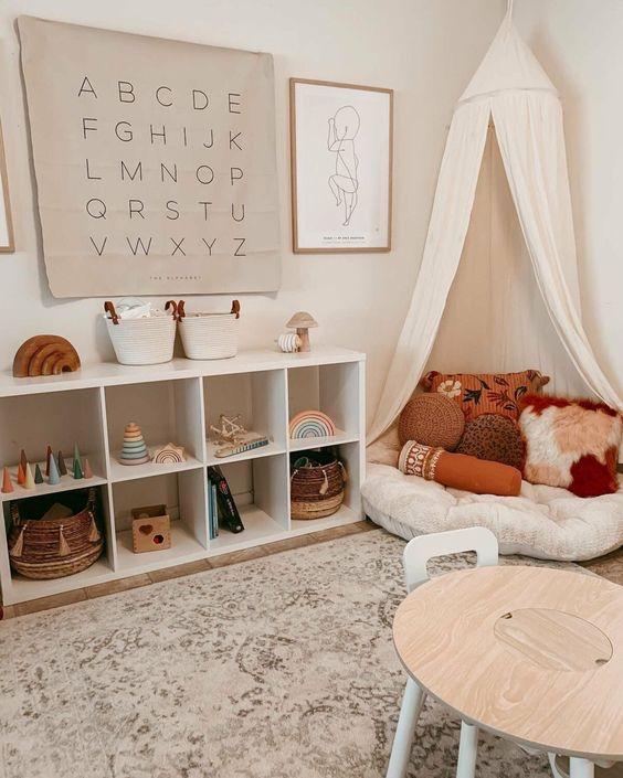 Ruang Bermain Anak dengan Pojok Santai