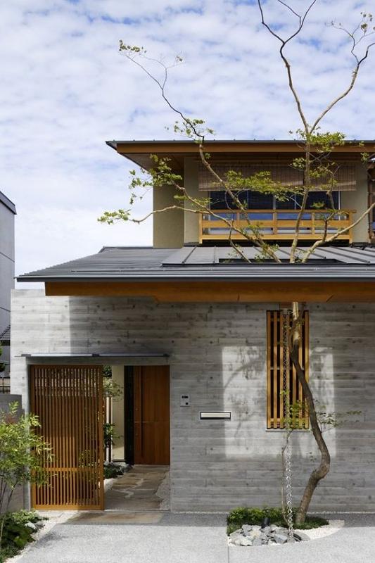 Rumah Jepang Gaya Rumah Klasik Industrial
