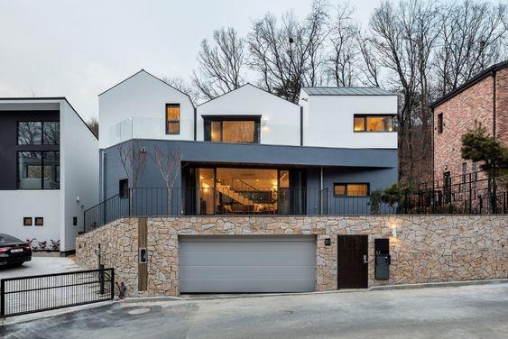 Rumah ala Korea Mewah Minimalis