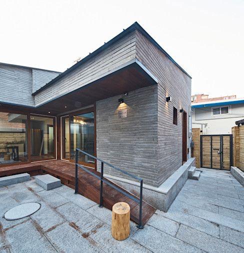 Rumah ala Korea Modern Minimalis