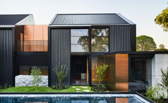 Rumah ala Korea Modern