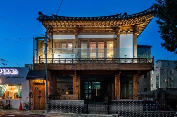Rumah ala Korea Semi Tradisional